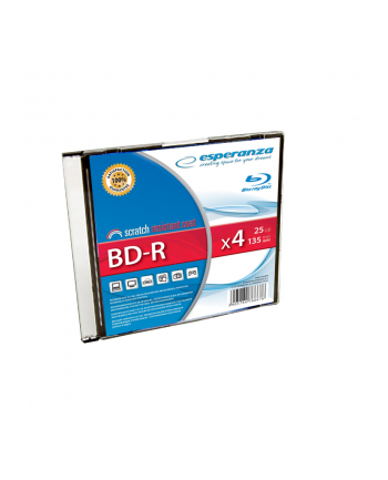 BD-R 25GB x4 - Slim case 1 szt.