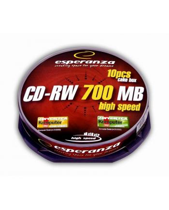 CD-RW 700MB x12 - Cake Box 10