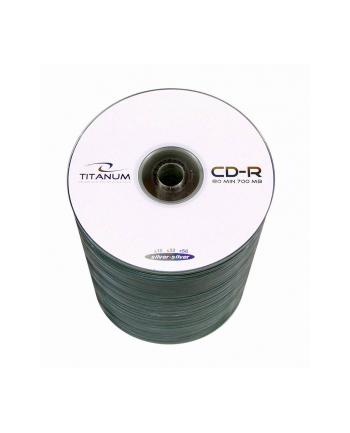 Płytki CD-R TITANIUM 700MB x56 - S-100