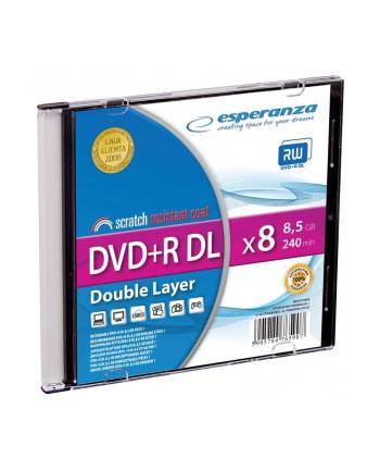 Płytka ESPERANZA DVD+R 8,5GB Double Layer x8 - Slim 1