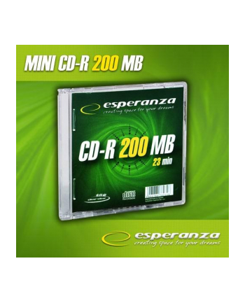 Mini CD-R 200MB x32 - Slim 1