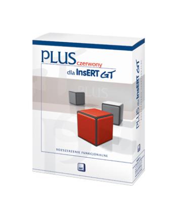 Czerwony Plus dla InsERT GT          CPLUS