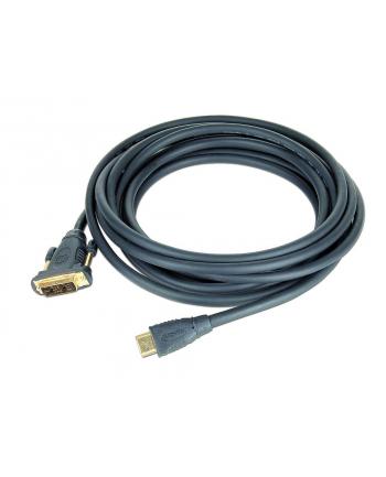 KABEL DO MONITORA DVI-D(18+1) - HDMI(19PIN) M/M 1.8