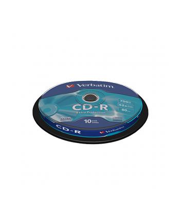 CD-R Verbatim700MB/80MIN52xSpeed DATA LIFE (Cake 10szt)