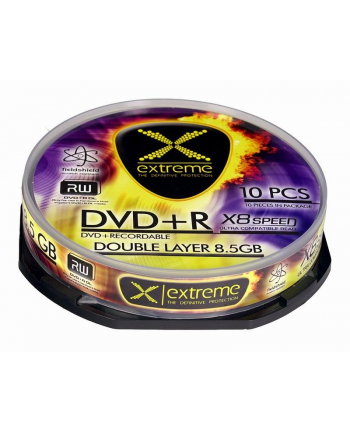 DVD+R Extreme 8 5GB Double Layer x8 - Cake Box 10