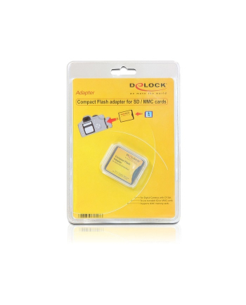 Delock adapter karty pamięci SD/MMC->CF