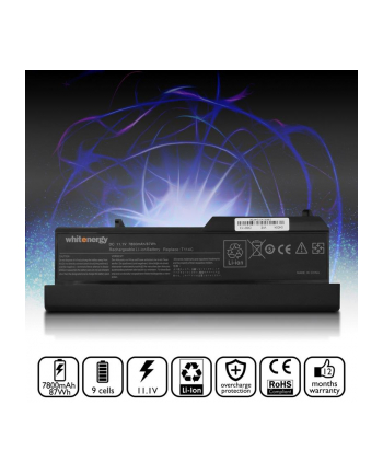 Whitenergy High Capacity bateria Dell Vostro 1310 11.1V Li-Ion 7800mAh
