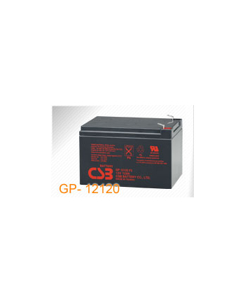 CSB akumulator GPL12120 12V/12Ah baterie 8-letnie