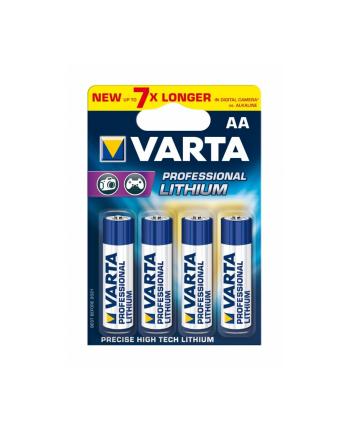 Bateria litowa Professional Lithium Mignon AA 4 szt