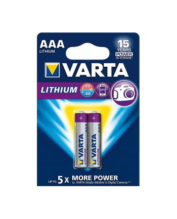 Bateria litowa Professional Lithium Micro AAA 2 szt