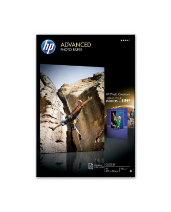Papier Advanced foto Błyszczący 250g A3 20arkuszy Q8697A