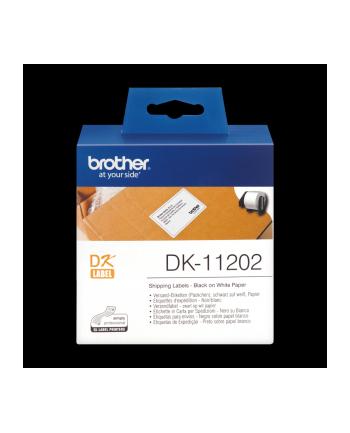 Etykieta dostawcza Brother  62mm x 100mm   300 szt.