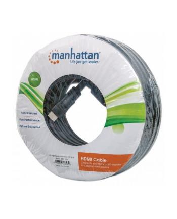 Manhattan Kabel monitorowy HDMI/HDMI 1.3 15m ekranowany czarny