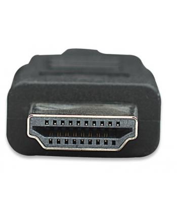 Manhattan Kabel monitorowy HDMI/HDMI 1.4 Ethernet 10m czarny niklowane złącza