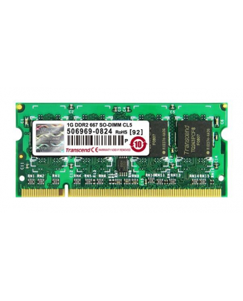 Pamięć Memory 512MB DDR2-667 CL5 Retail