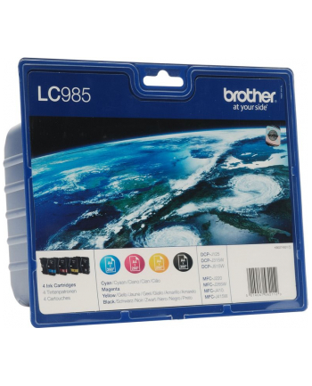 Zestaw tuszy Brother LC-985 C/M/Y/K