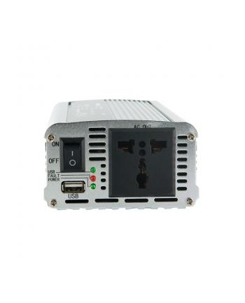 PRZETWORNICA SAMOCHODOWA DC 24V-AC 230V 400W Z USB