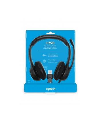 LOGITECH H390 USB Head Set           981-000406