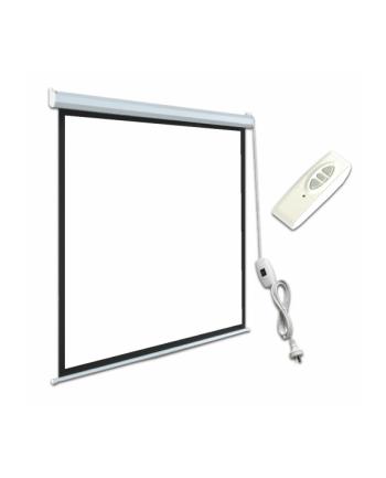 ART Ekran Elektryczny 4:3 120'' 244x183cm matte white z pilotem EM(PSE)-120 4:3E