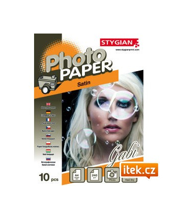 Papier foto do drukarek atramentowych 10x15 (A6) błyszczący 210g/m2 20 arkuszy (#2030061008)