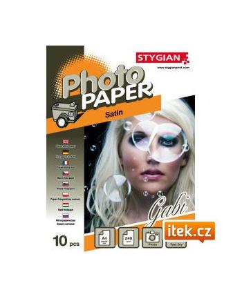Papier foto do drukarek atramentowych 10x15 (A6) błyszczący 210g/m2 20 arkuszy (#2030061011)