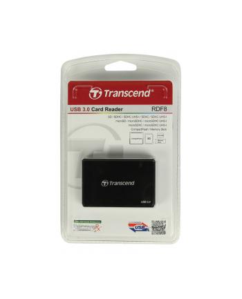 Transcend czytnik kart USB 3.0/2.0, Black