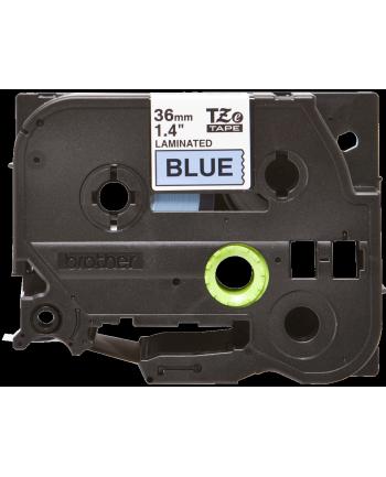 Brother 36mm BLACK ON BLUE