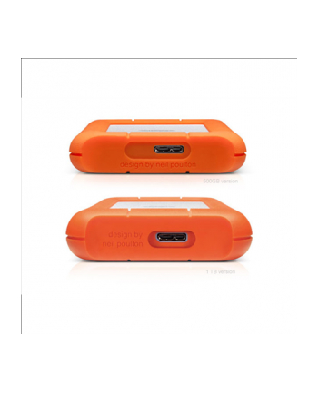 Dysk LaCie Rugged Mini, 1 TB, 2,5''  USB3.0, 5400RPM, 8MB CACHE