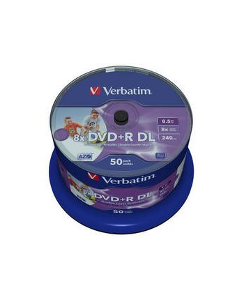 Płyta DVD+R/8.5G 8x DoubleLAYER 50pk printable