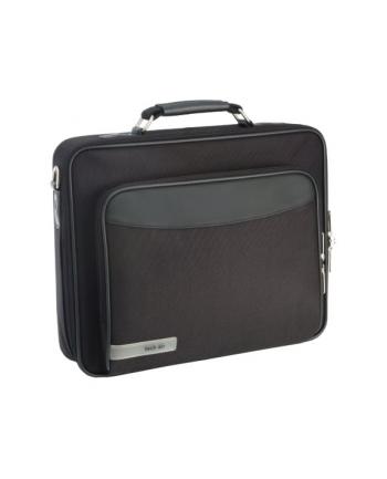 TECH AIR, torba 12'', jednokomorowa + kieszeń, poliester, czarna, NOWOŚĆ