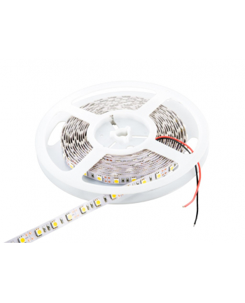 Whitenergy taśma LED 5m | 60szt/m | 5050 | 14.4W/m | 12V DC | 6500K zimna biała