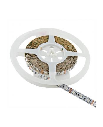 Whitenergy taśma LED 5m | 60szt/m | 5050 | 14.4W/m | 12V DC | zielona