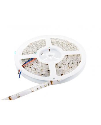 Whitenergy taśma LED wodoodporna 5m | 30szt/m | 5050 | 7.2W/m | 12V DC | RGB