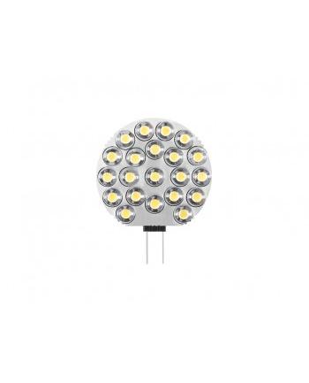 Whitenergy żarówka LED | G4 | 21 LED | 1W | 12V | zimna biała