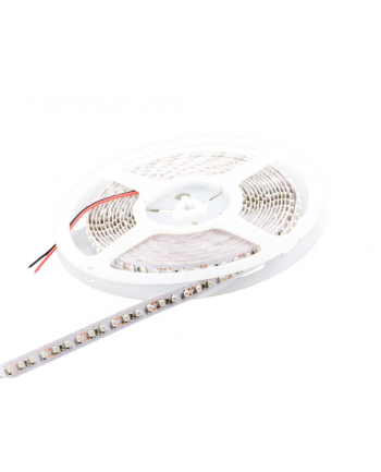 Whitenergy taśma LED 5m | 120szt/m | 3528 | 9.6W/m | 12V DC | żółta