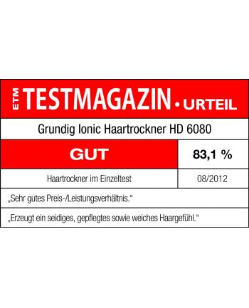 Suszarka do włosów GRUNDIG HD 6080