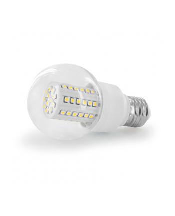 Whitenergy żarówka LED| E27 | 60 SMD| 3W | 230V | barwa ciepła biała| kula B60
