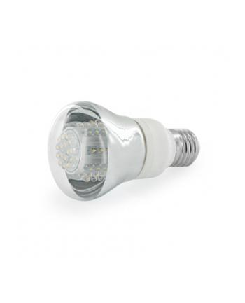 Whitenergy żarówka LED| E27 | 80 LED| 4W | 230V | barwa ciepła biała| reflektor
