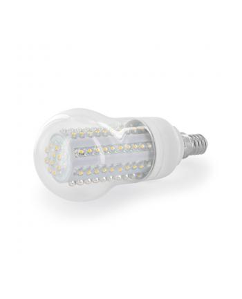 Whitenergy żarówka LED| E14 | 90 LED| 4.5W | 230V | barwa ciepła biała | classic