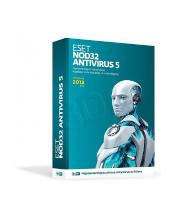 ESET NOD32 ANTIVIRUS 5.0 BOX - 1 STAN/36M
