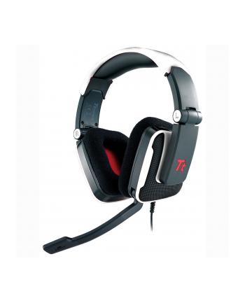 Tt eSPORTS Słuchawki dla graczy - Shock DTS White, mikrofon