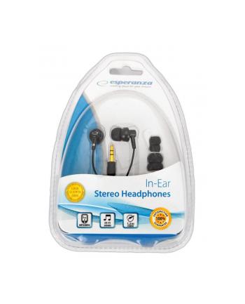 ESPERANZA Słuchawki Douszne Stereo EH124 Czarne