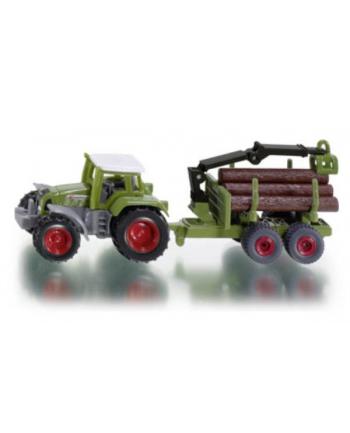 SIKU Traktor z Przyczepą do Bali Drzewa