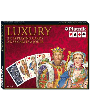 PIATNIK KARTY LUX 2 TALIE LUXURY