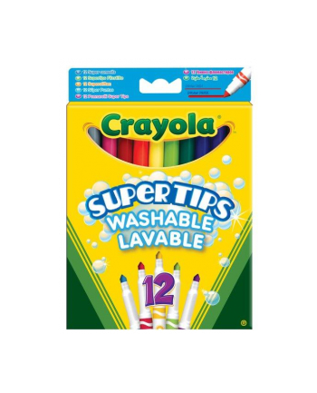 CRAYOLA Flamastry supertips pastel.12szt