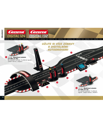 CARRERA Digital 132 Driver Display