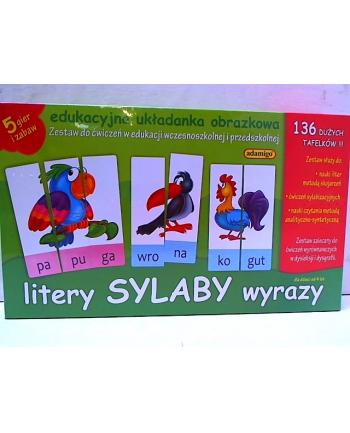 ADAMIGO Zest. Edukacyjny Litery Sylaby