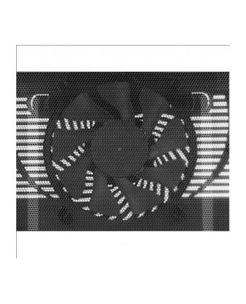 Podstawka chłodząca pod laptopa COOLERMASTER ALU NotePal L1 NTB 12-17'' czarna, 16cm fan