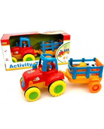 BRIMAREX Traktor z Przyczepą i Zwierzęta