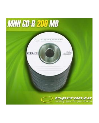 mini CD-R Esperanza [ spindle 100   195MB   32x   etui ]